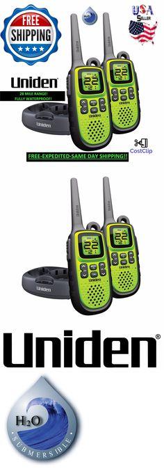 Walkie Talkies Two-Way Radios: Uniden Long Range Waterproof Rechargeable Two Way Radio Walkie Talkies 28 Mile 2 -> BUY IT NOW ONLY: $49.88 on eBay!