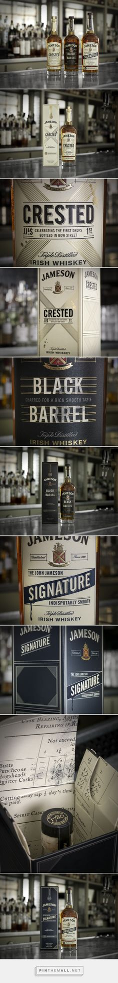Jameson Whiskey – Revitalizing Jameson's Classic Reserve Range - Packaging of the World - Creative Package Design Gallery - http://www.packagingoftheworld.com/2017/06/jameson-whiskey-revitalizing-jamesons.html