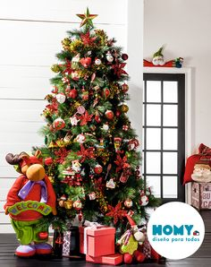 #Homy #Deco #Navidad #árbol #Navidelo #Color #Rojo #Clásicos