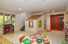 40 Kids Playroom Design Ideas That Usher In Colorful Joy! Under stairs bump out
