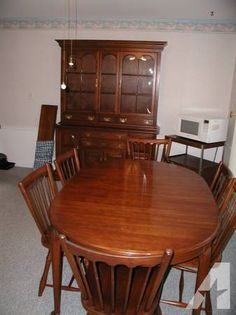 Pennsylvania House Dining Room 1980s | Pennsylvania House Dining Room Table  6 Chairs