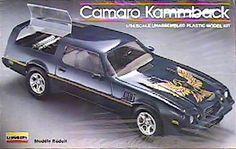 Lindberg - Camaro Kammback Model Camaro Models, Chevy Models, Model Cars Kits, Kit Cars, Plastic Model Kits, Plastic Models, Monogram Models, Vintage Models, Box Art