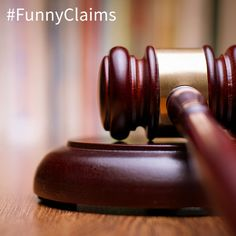 "#FunnyClaims A man was trying to counter sue his victim saying ""the pedestrian had no idea which way to run as I ran over him."" http://www.currieliabolaw.com/"