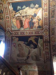 Affreschi Assisi #TuscanyAgriturismoGiratola