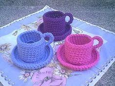 Crochet Teacup - Tutorial