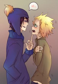Craig and Tweek- South Park yaoi Craig is so cute and Tweek is freaking out!