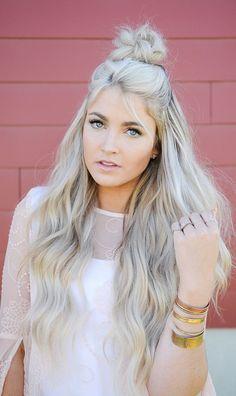 Easy Bun Hairstyles for Long Hair and Medium Hair92