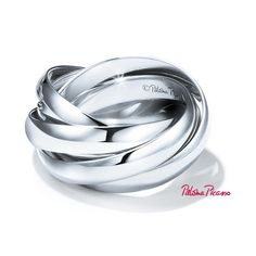 Paloma's Melody five-band ring in sterling silver.