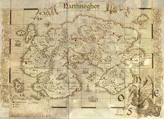 I would like to share with you other map. This time an ancient and lost continent...Narthnoghor. - Epic Maps - Google+