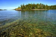 Isle Royal National Park. I have been there 4 times and it gets better every time. Took the Isle Royal Queen out of Copper Harbor, Michigan.