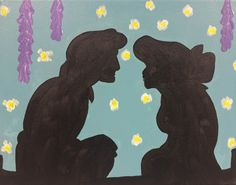 """Painting and Pinot (www.PaintingandPinot.com) - Acrylic Painting """"Ariel in Love"""""""