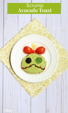 This Scrump Avocado Toast Is Perfect for Any 'Lilo & Stitch' Fan