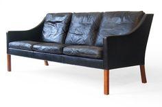BØrge Mogensen #2209 Fredericia Leather Sofa