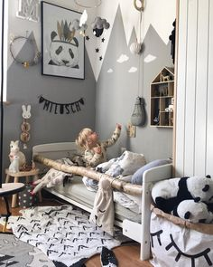 colorful creative and undeniably cool kids room page 6 of 67 babyzimmer ideen # Toddler Rooms, Baby Boy Rooms, Baby Room, Toddler Bed, Kids Bedroom, Bedroom Decor, Wall Decor, Bedroom Furniture, Furniture Design