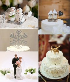 Snowflake Wedding Cake Topper With Initial By Initialmoments 73 00 Winter Wonderland Pinterest And