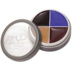 Gama MUD Character/FX Make-up este o serie de produse versatile pentru realizarea efectelor speciale.