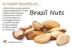 Brazil nuts- contain selenium - Google Search