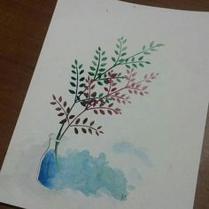 instagram betdemka   watercolor illustration