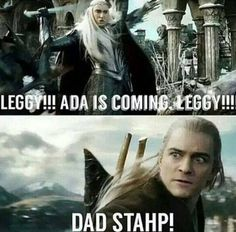 Hold on, Leggy!!!!! Ada is coming!!!!