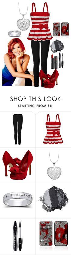 """Brianna Kay."" by not-your-southern-bell ❤ liked on Polyvore featuring J Brand, Hollister Co., rsvp, Simply Silver, Stila, Rimmel, Lancôme and Nintendo"