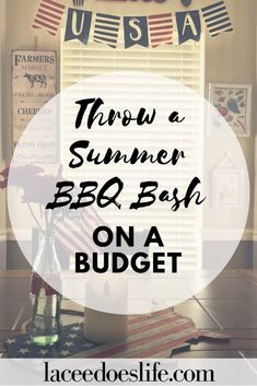 Summer is the perfect time for a cookout. With these simple tips you can throw a summer barbecue bash and stay on budget too! Dinner Party Menu, Bbq Party, Birthday Bbq, Healthy Groceries, Summer Barbecue, Frugal Tips, Barbacoa, Party Planning, Saving Money