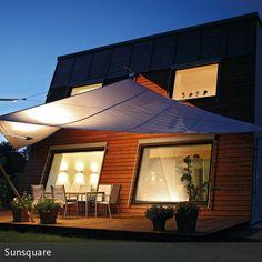 sonnensegel als schattenspender | garten, Garten Ideen