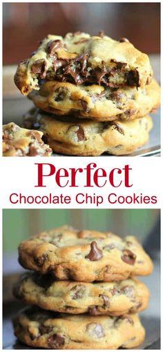 Fluffy Chocolate Chip Cookies, Homemade Chocolate Chip Cookies, Semi Sweet Chocolate Chips, Chocolate Chip Recipes, Chocolate Chip Oatmeal, Chocolate Chocolate, Desserts With Chocolate Chips, Divine Chocolate, Bon Dessert