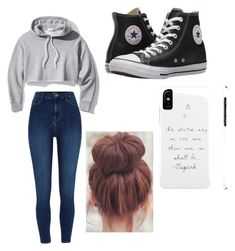 """""""Untitled #1"""" by the2ofus47 on Polyvore featuring Frame and Converse"""
