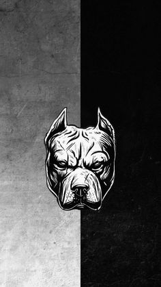 Pitbull Dog Art iPhone Wallpaper - iPhone Wallpapers
