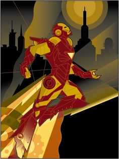 Ironman - I love these types of illustrations
