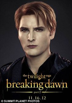Breaking Dawn part 2 Peter Facinelli as Dr Carlisle Cullen