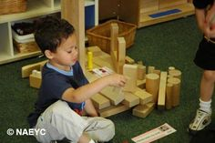 How a Construction Learning Center Enhances STEM Learning | National Association for the Education of Young Children | NAEYC  B| Ben Navarro, founder of Meeting Street Schools in Charleston, SC is dedicated to Early Childhood Education #EdReform #SCSchools Sherman Financial Group