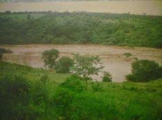Enchente do Rio Araguari ou Rio das Velhas em Sacramento - MG - ( 1 ou 2 de Janeiro de 1997)
