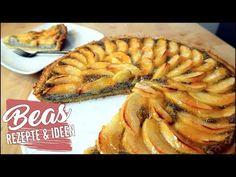 Apfel-Mohn Tarte Rezept | Apfelkuchen mal anders backen mit Mohncreme - YouTube