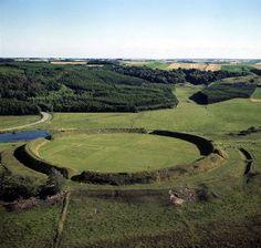 Ring fortress (ringwalburg), Fyrkat, Hobro, Jutland (DK)