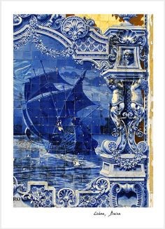 Beautiful tile picture. Lisboa