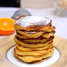 Citromos-narancsos ricottás palacsinta Ricotta, Pancakes, Breakfast, Food, Morning Coffee, Essen, Pancake, Meals, Yemek