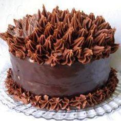 Torta de chocolate de lujo