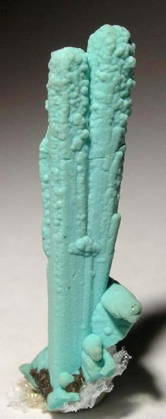 Chrysocolla ps. Azurite from Ray Pit, Pinal Co. , Arizona, USA [db_pics/pics/md34a.jpg]