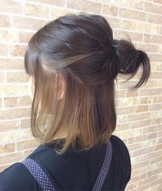 How nice! 23 Comments 1 Comment Creer for Hair ( - How nice! 23 Comments 1 Comment Creer for Hair ( - Two Color Hair, Hair Color Streaks, Hair Color Underneath, Peekaboo Hair, Half Dyed Hair, Underlights Hair, Shot Hair Styles, Brown Ombre Hair, Aesthetic Hair