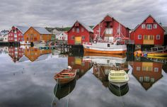 on the water in Bud, Norway