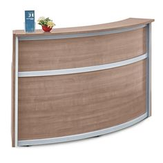 Compass Reception Desk - 72W x 30D - 10139 and more Lifetime Guarantee
