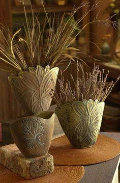 Buck Pottery :: Gruene, TX   . . . love the designs . . .