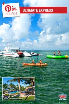 Repin this image and include the tag #FuryFreebie to win a Key West Vacation for 2! Your trip will include this Ultimate Express trip plus 5 days/4 nights at the Key West Best Western Key Ambassador Resort. Make sure to repin by 09/30/2015 to be entered!