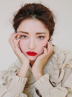 beauty-shooting make-up-fotoshooting ! 3ce Makeup, Pony Makeup, Korean Makeup Look, Asian Eye Makeup, Korean Beauty Girls, Asian Beauty, My Beauty, Beauty Makeup, Beauty Shoot