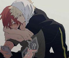 Bakugo and Kirishima