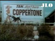 1965 - Watch Jodie Foster as she began her career at age three as a Coppertone girl in a television commercial.