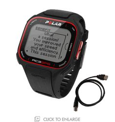 Polar RC3 Integrated GPS Watch
