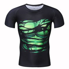 We love it and we know you also love it as well Men's Cool Creative T-Shirt Green lantern Vs Superman Short Sleeve Fitness Bodybuilding Compression 3D Shirts PLUS SIZE just only $12.70 - 14.53 with free shipping worldwide  #tshirtsformen Plese click on picture to see our special price for you