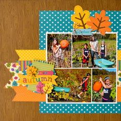 Doodlebug Autumn Layout